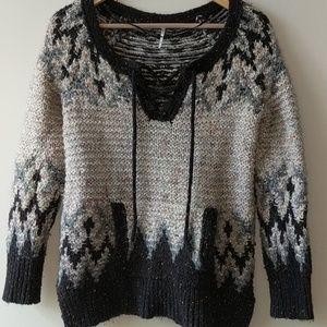 Free People Multicolor Sweater